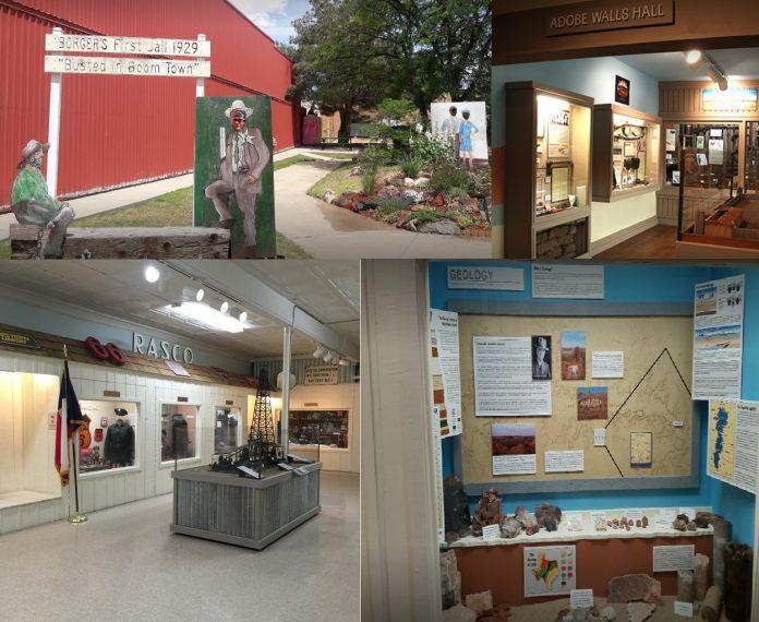 http://borgertx.com, Hutchinson County Museum